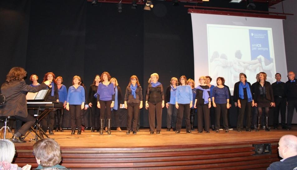 L'acte de reconeixement va comptar amb l'actuació musical del grup Sons de Gòspel.