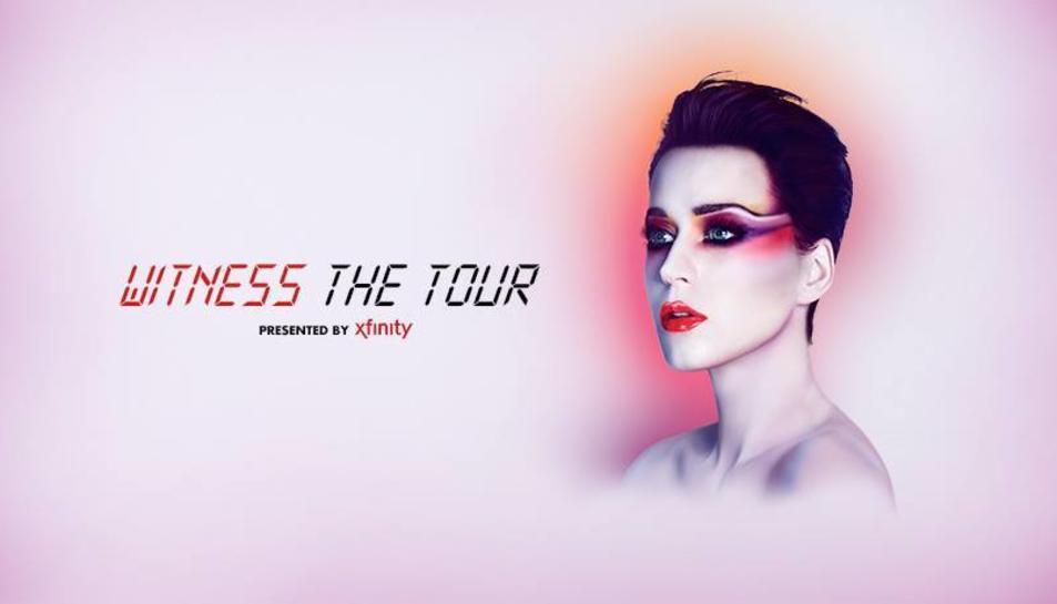 Imatge promocional de la gira de Katy Perry.