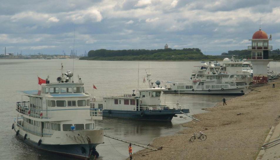 Imatge del riu Amur on va tenir lloc la troballa.