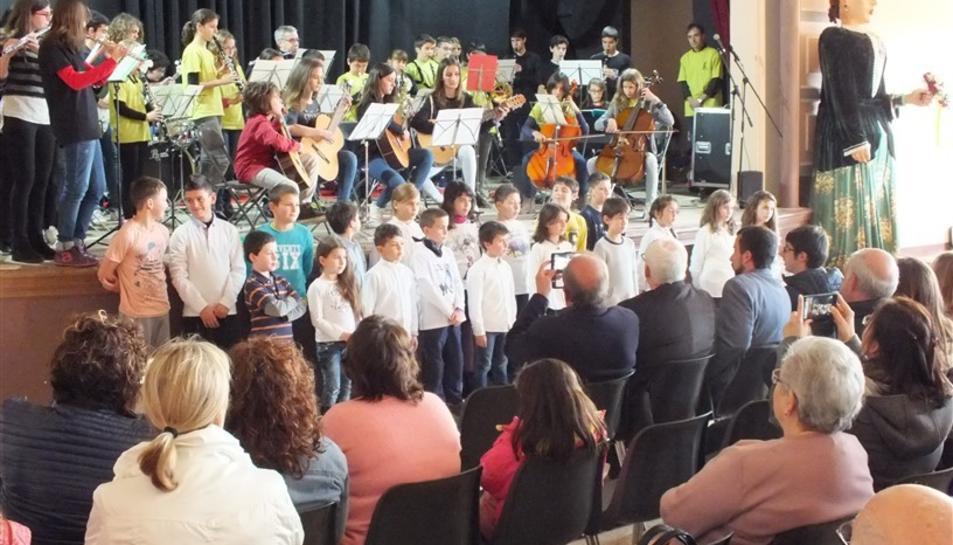 Imatge del Concert de Primavera 2017 a Barberà de la Conca.