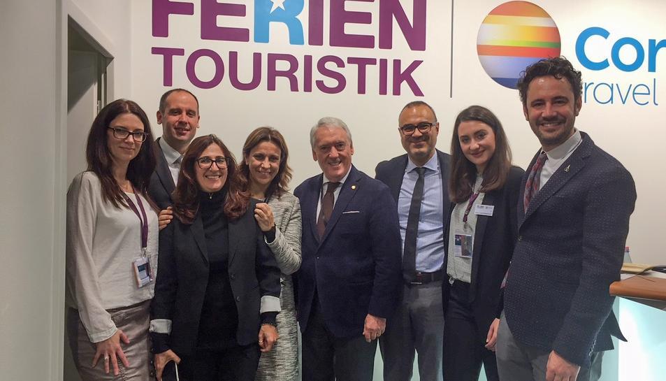 Una delegació del Patronat de Turisme de la Diputació deTarragona, encapçalada pel seu president, Josep Poblet, està intensificant les accions al mercat alemany per incrementar el coneixement de la Costa Daurada.