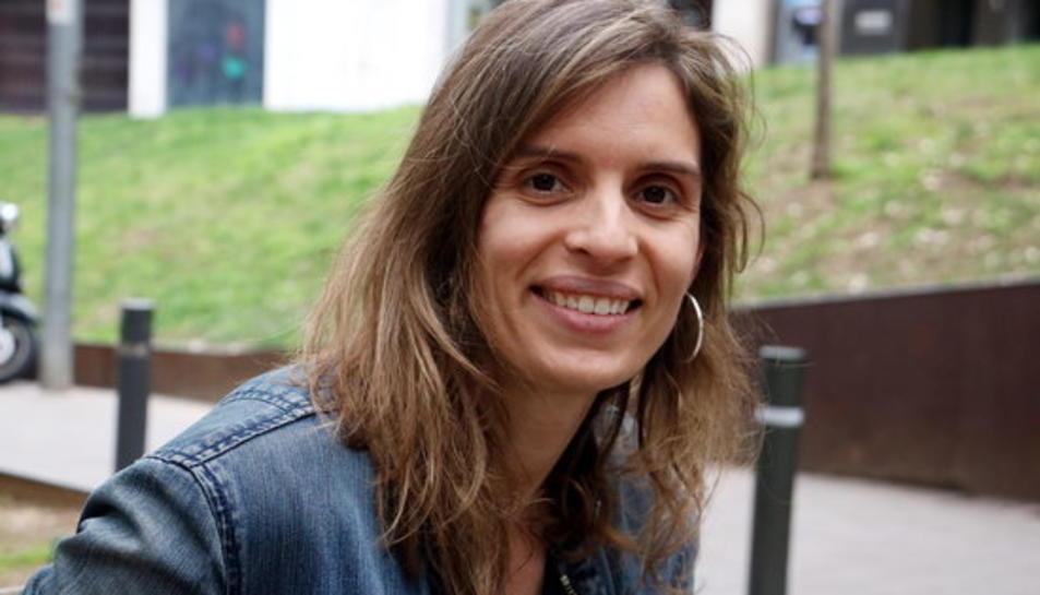 L'autora d''El risc més gran', Laura Pinyol.