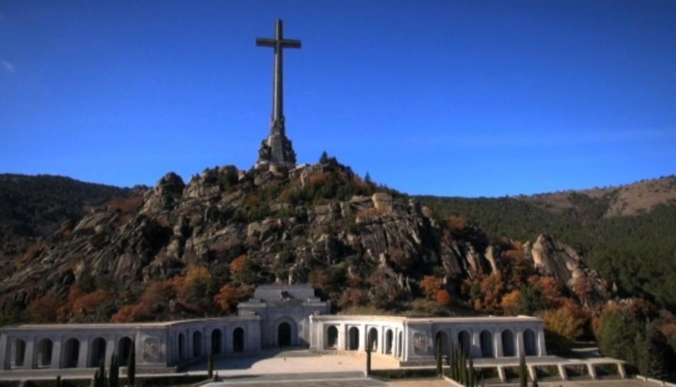 El Valle de los Caídos, en una imatge del documental 'Avi, et trauré d'aquí!' de TVC.
