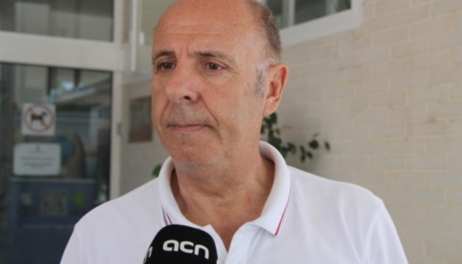 L'alcalde de l'Ampolla, Francesc Arasa.