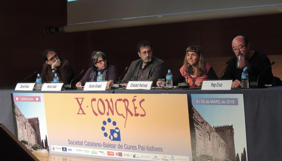 Alguns dels ponents que han participat al Congrés celebrat a Tarragona