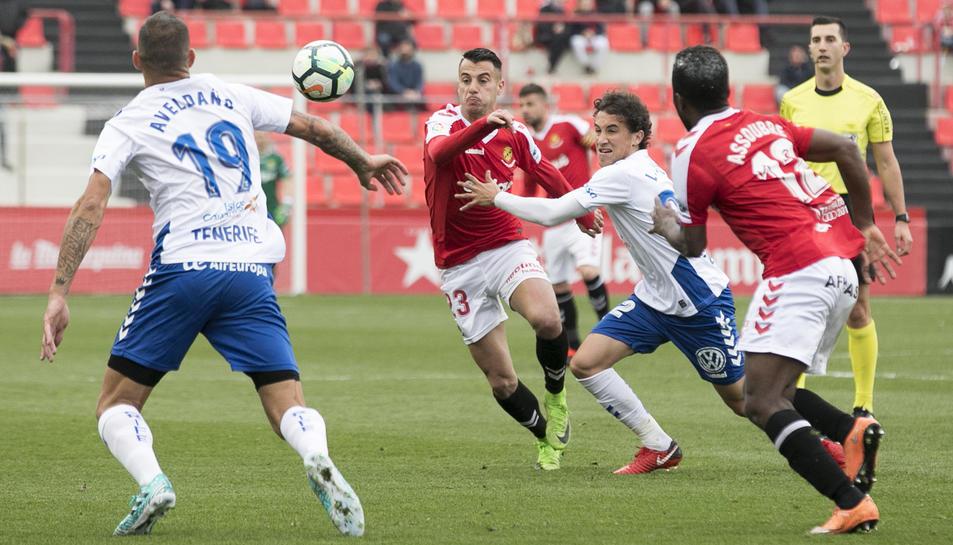 Sergio Tejera torna després de complir sanció i entrarà a la convocatòria de Nano Rivas per rebre al Córdoba.