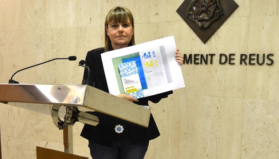 Imatge d'arxiu d ela regidora del PP a Reus, Tona Duch.