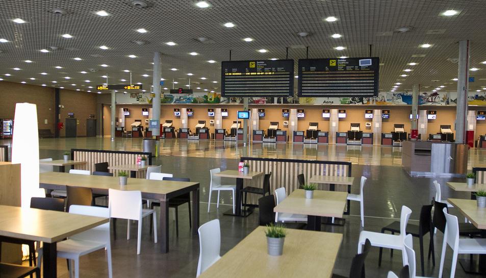 Una imatge d'arxiu de les instal·lacions de l'Aeroport de Reus.