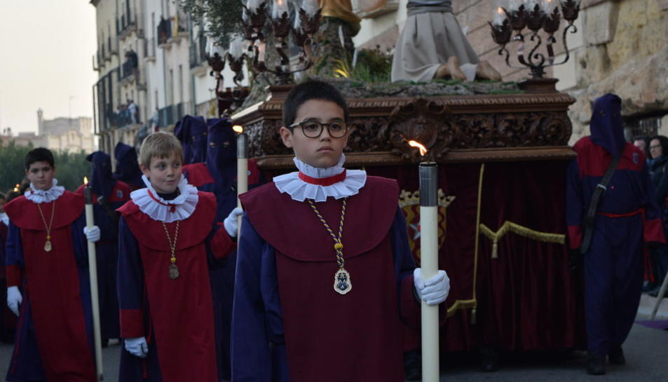 Imatge d'arxiu de la Processó del Sant Enterrament.