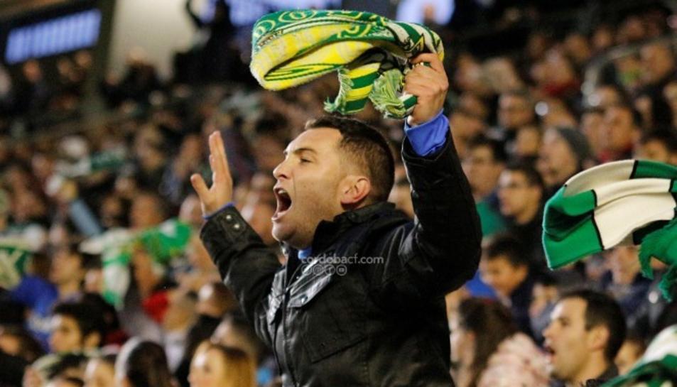 L'afició del Córdoba creu en la permanència.