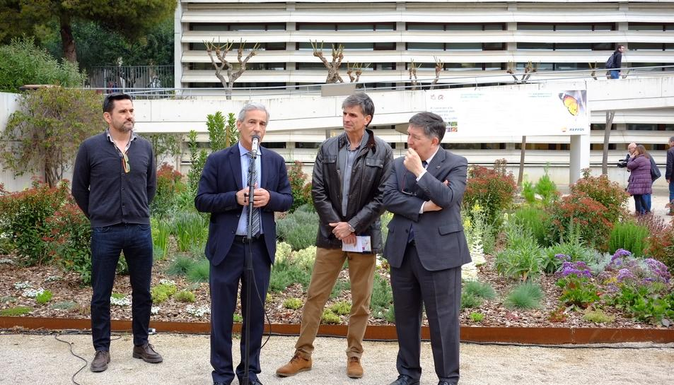 Repsol ha col·laborat en la construcció d'aquest espai, en motiu del 25è aniversari de la universitat.