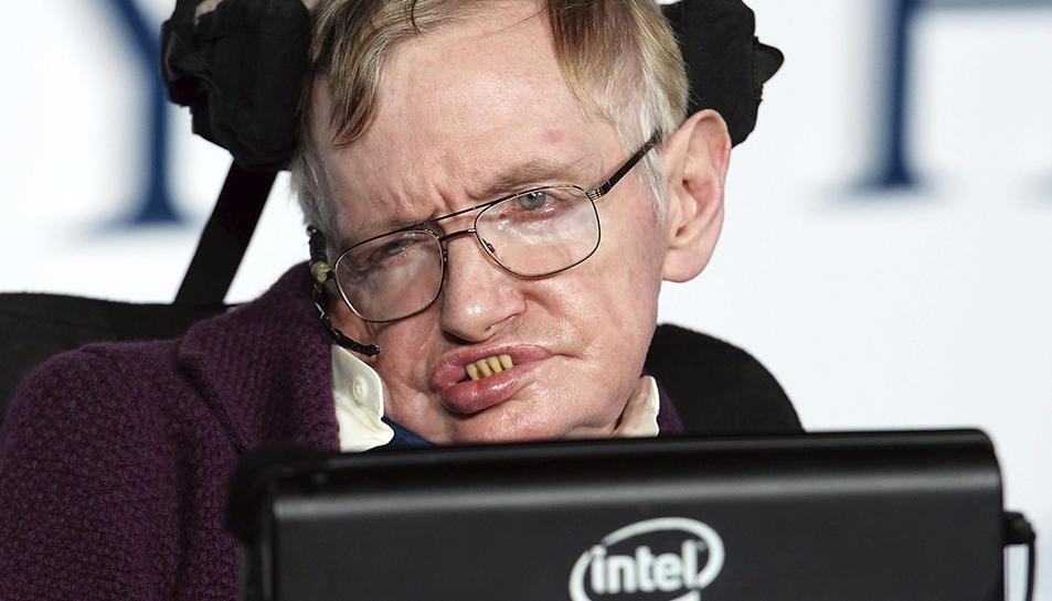 Imatge del 2014 del científic Stephen Hawking, mort als 76 anys.