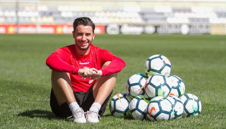 Guzzo torna a gaudir del futbol després d'un calvari de vuit mesos. El portuguès no amaga que va estar uns mesos trist perquè no deixava enrere les molèsties.