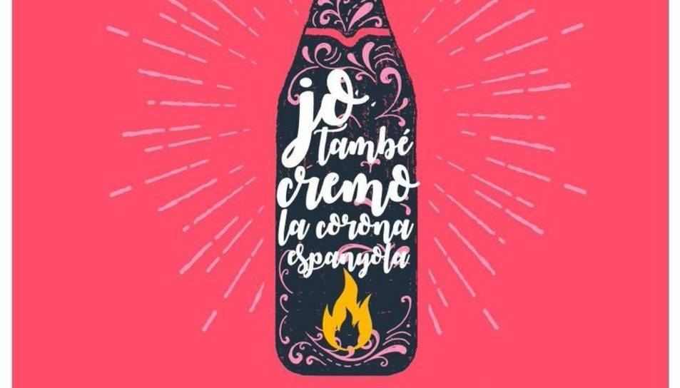 Imatge del cartell de la convocatòria d'Endavant Tarragona.