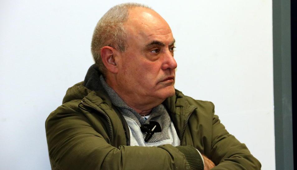 Imatge d'arxiu de l'acusat, Manuel Pérez, durant el judici a Tortosa.