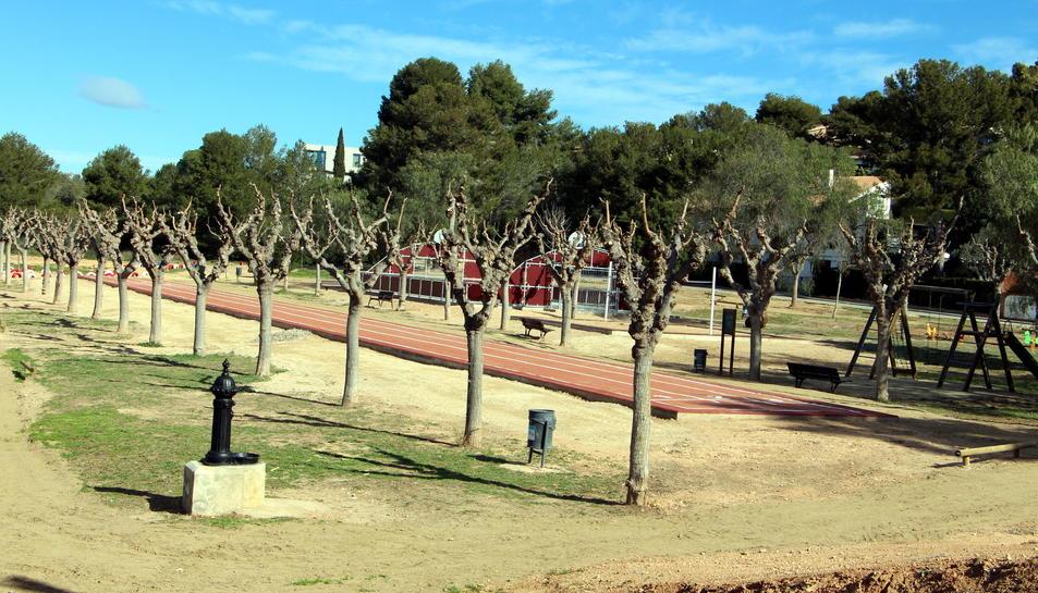 La inauguració del Parc dels Safranars ha estat aquest divendres.