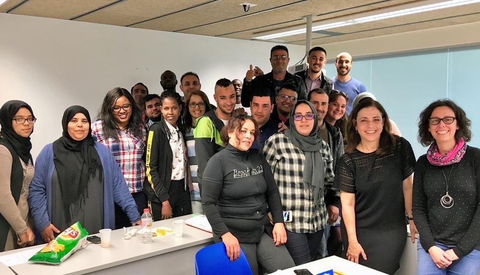 Imatge dels alumnes