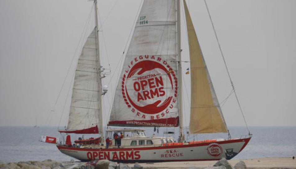 Imatge d'arxiu del vaixell de l'ONG Proactiva Open Arms.