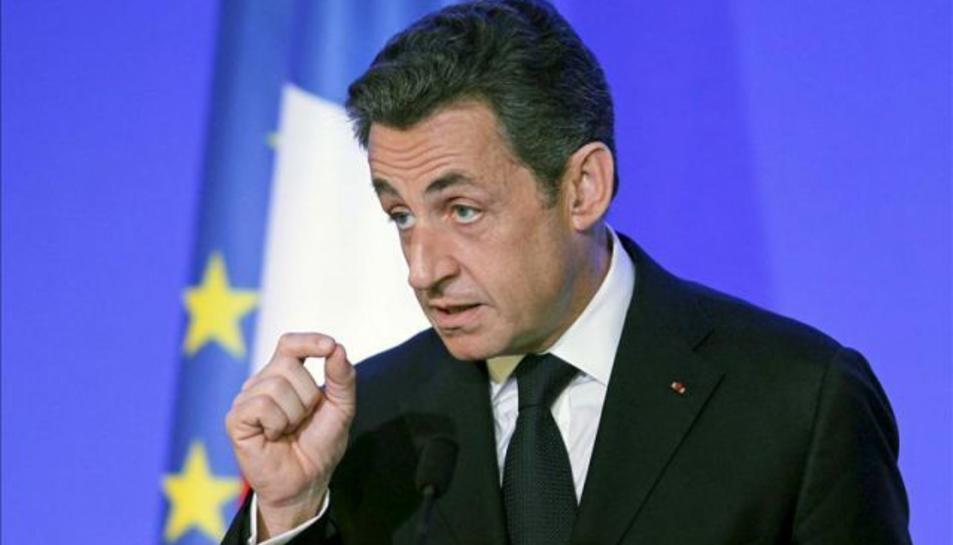 Nicolas Sarkozy, en una imatge d'arxiu.