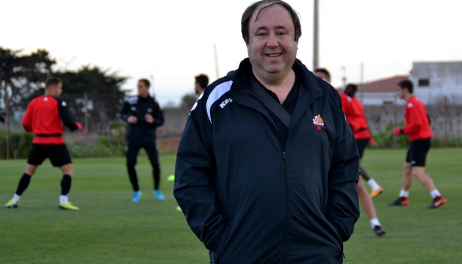 Joan Solanas, delegat del CF Reus.