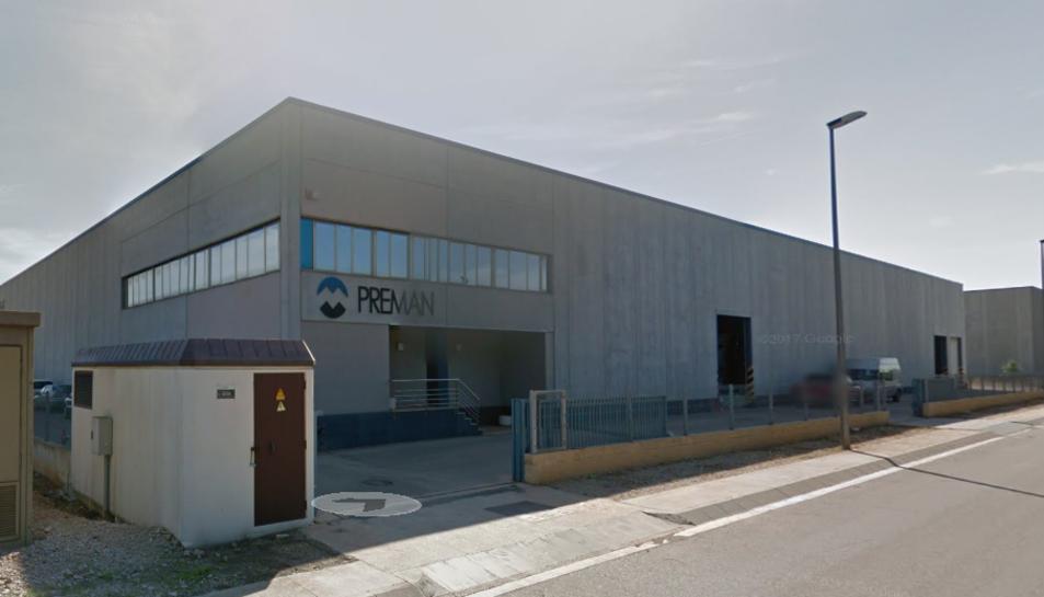 L'empresa Preman SL d'Ulldecona marxa a Vinaròs.