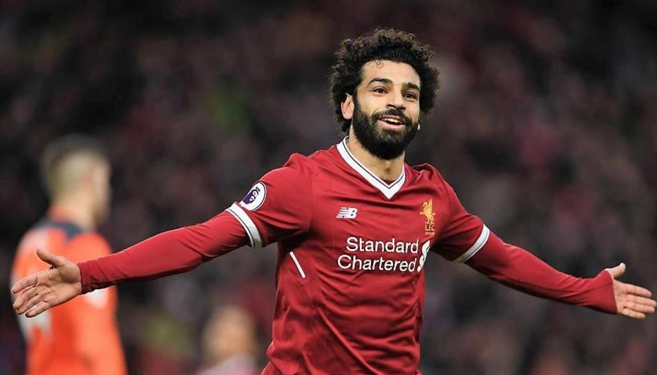 Salah va al capdavant de la classificació de la Bota d'Or.