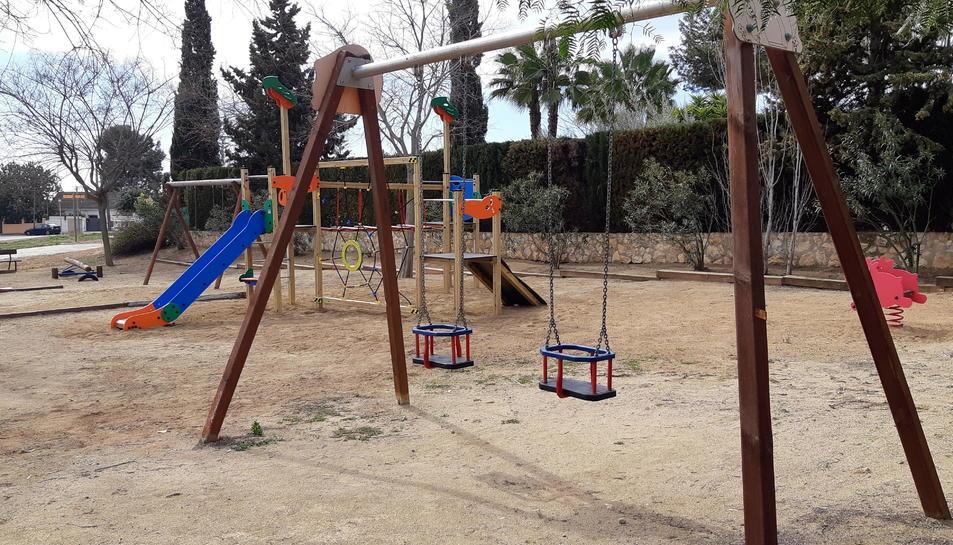 La millora i ampliació del parc ha costat uns 7.000 euros.