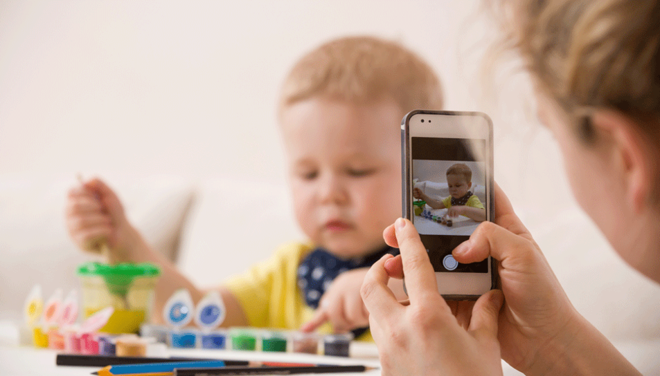 Imatges dels infants a la xarxa