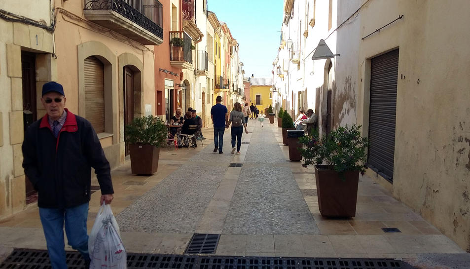Imatge del carrer Martí d'Ardenya.