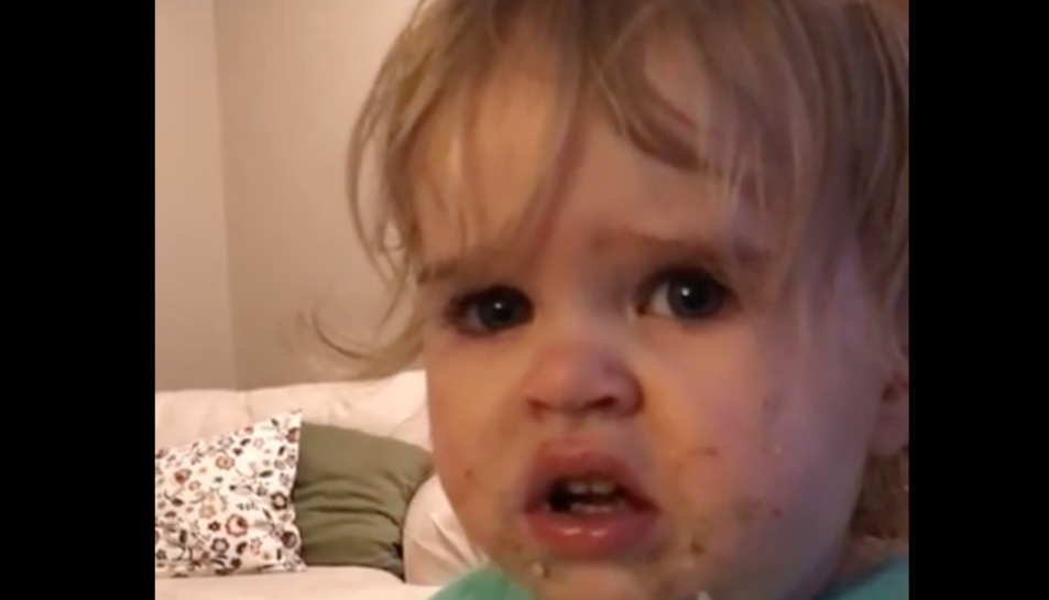 Alguns usuaris veuen la reacció de la nena com quelcom adorable, altres opinen que el wasabi podria ofegar-la.