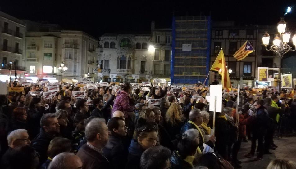 Reus també ha donat suport als presos polítics.