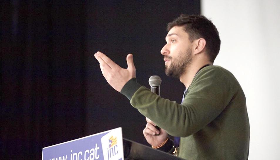 El màxim responsable de la JNC a Catalunya, el diputat Sergi Miquel.