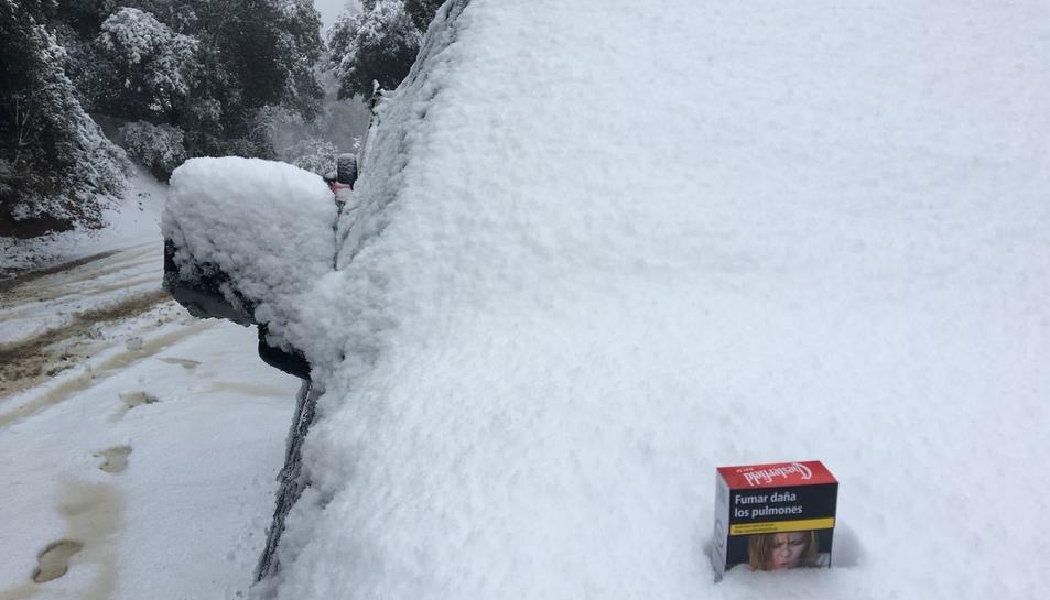 La nieve en Prades