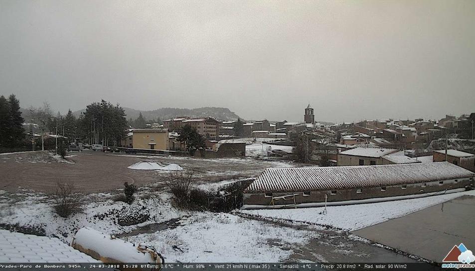 La nevada a Prades