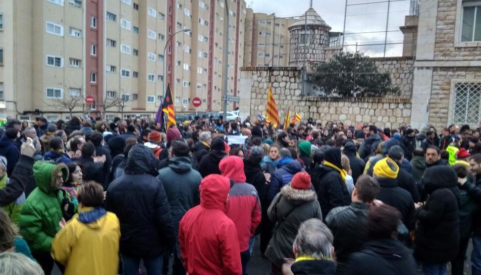 La manifestació, a Tarragona.