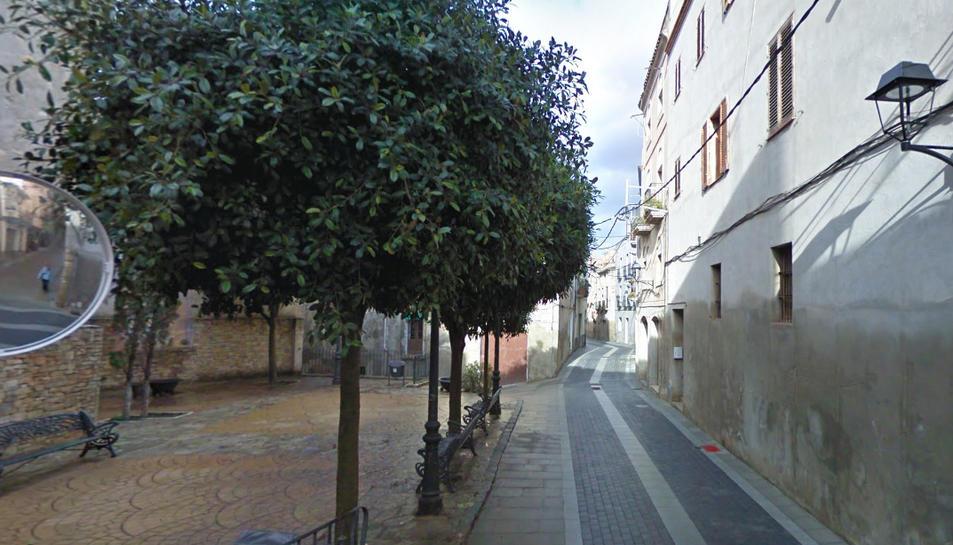El grup de quatre menors i un jove de 25 anys hauria entrat en diverses cases del carrer del Mig.