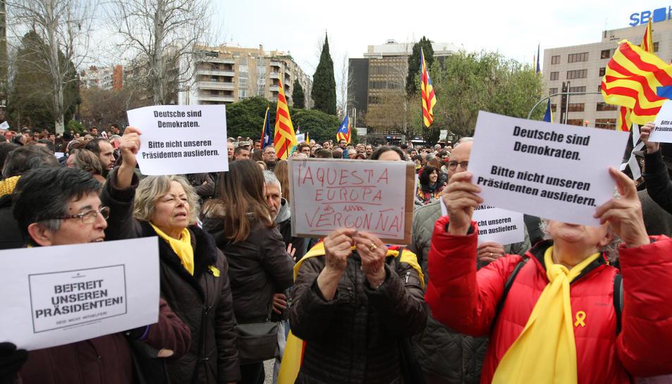 La manifestació a Tarragona del 25 de març (1)