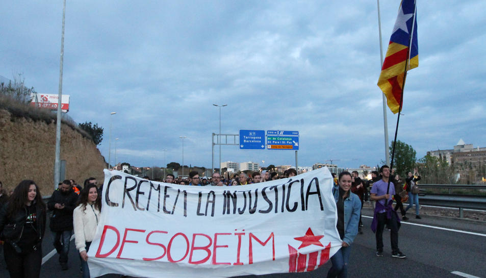 La manifestació a Tarragona del 25 de març (4)