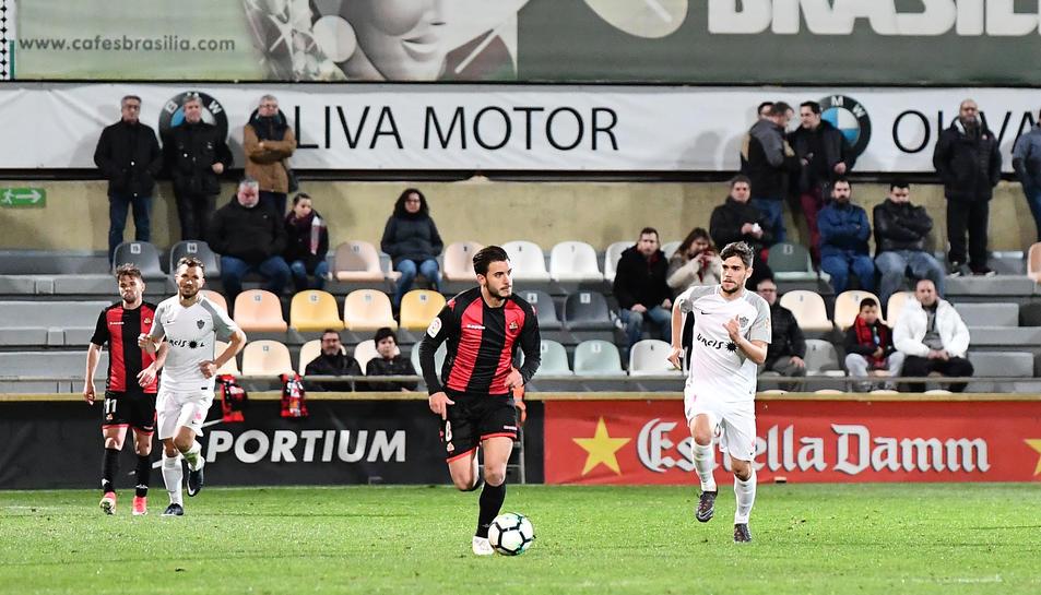 Raphael Guzzo va estrenar titularitat en el matx de dissabte contra l'Almería.