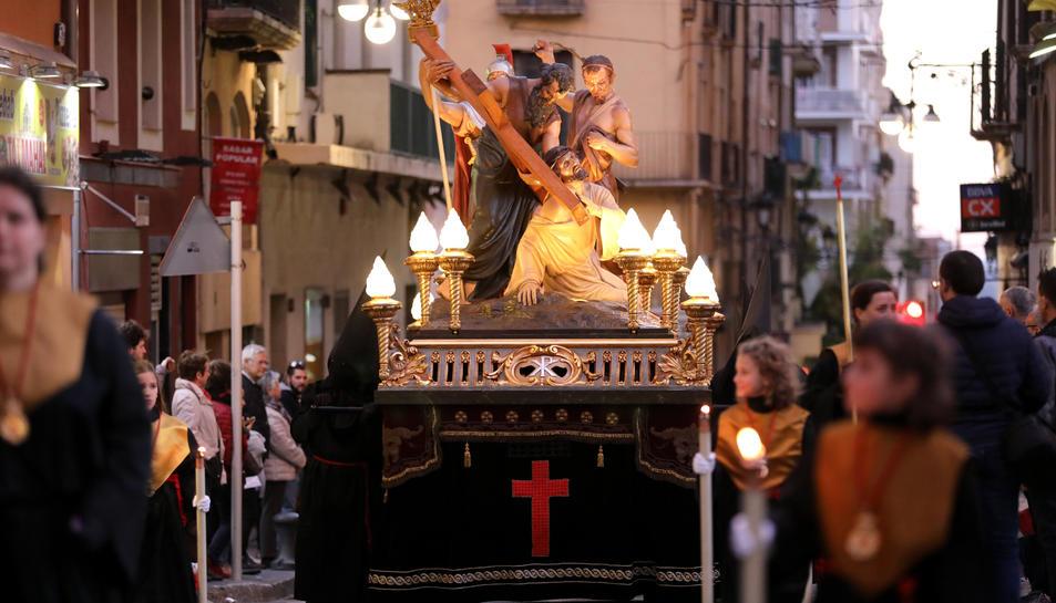 La jornada de la processó dels Natzarens ha generat molta expectació entre el públic.