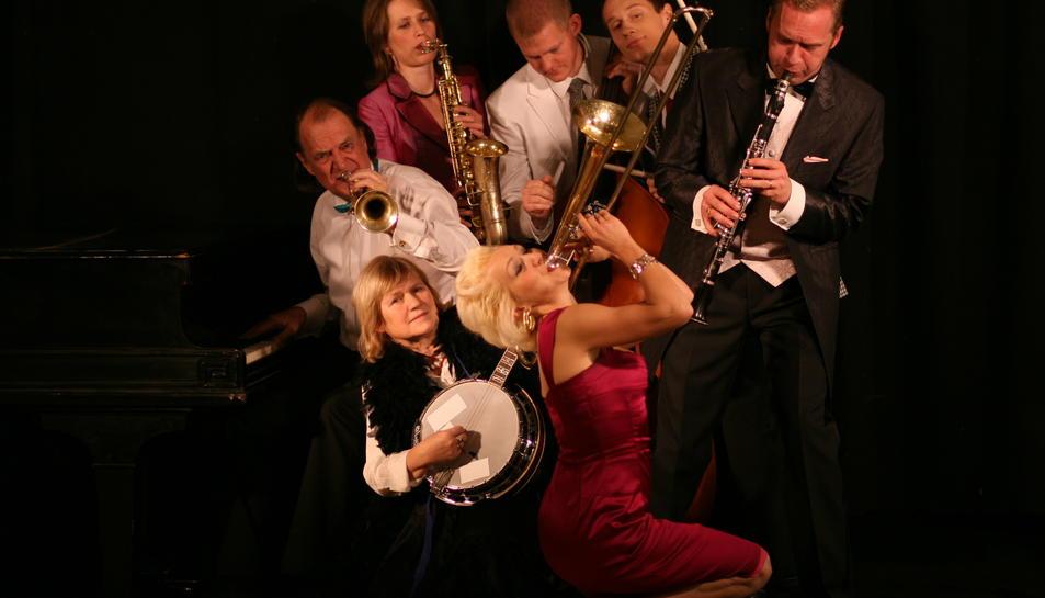 Imatge de la formació Gunhild Carling & Carling Family, que seran presents al 24è Festival Dixieland de Tarragona.