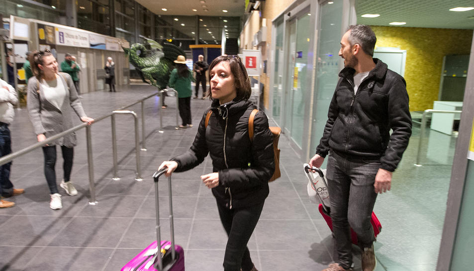 L'Aeroport ha rebut avui el vol amb què la companyia ha posat en marxa la seva operativa a Reus.