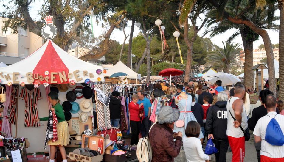 Imatge del mercat Vintage d'Altafulla.
