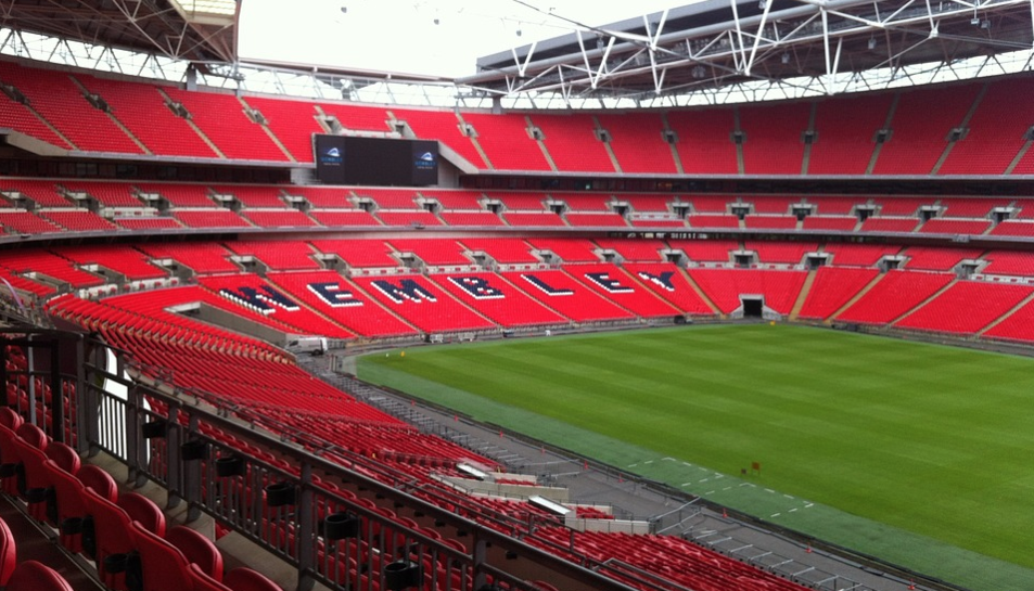 Imatge del Wembley Stadium.