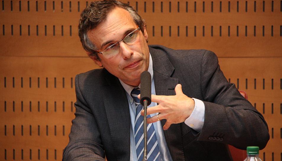 L'historiador Josep Lluís Alay era un dels quatre acompanyats de Carles Puigdemont quan el van detenir.