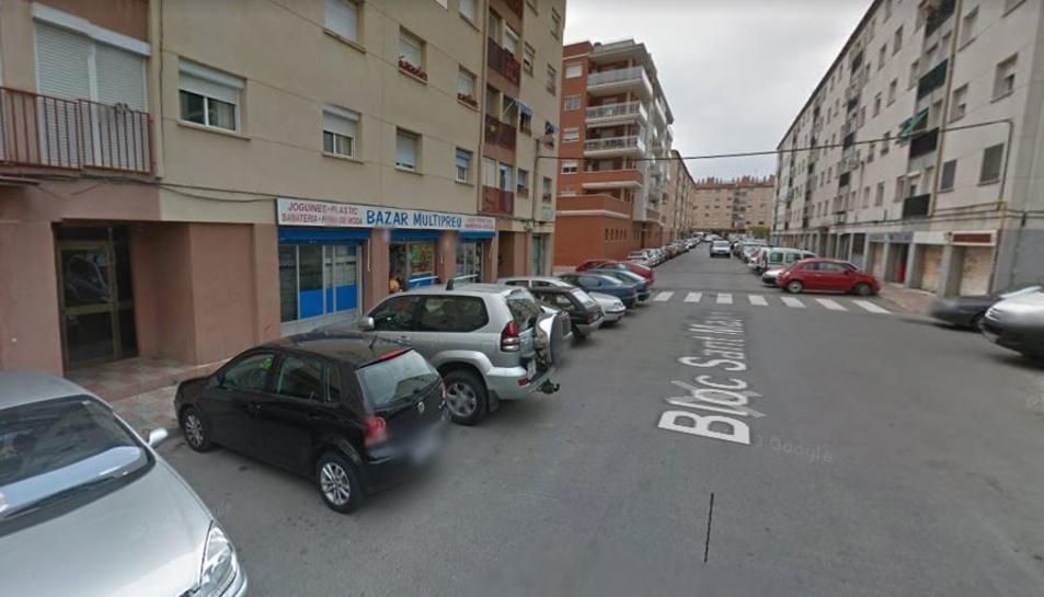 Els fets han succeït al carrer Bloc Sant Pere de Tarragona.