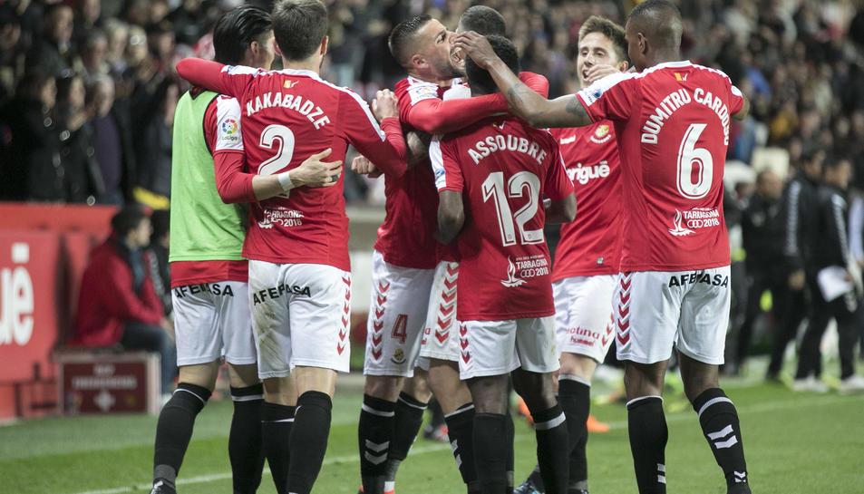 Els jugadors han celebrat fins a tres gols.