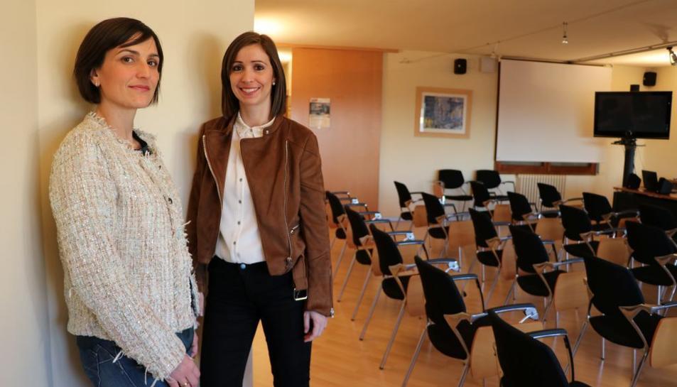 Elisabet Cerrato i Roser Casanova, les impulsores de l'empresa LitiGest.