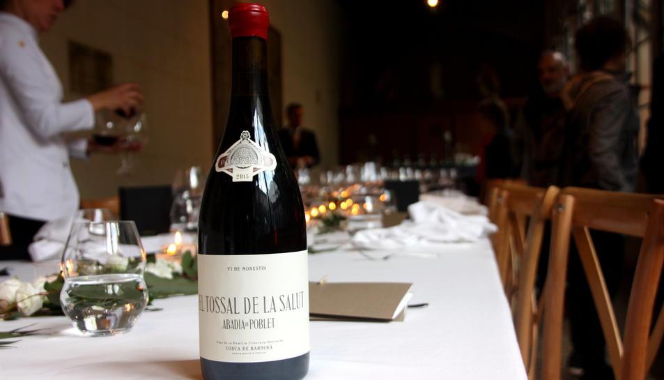 El vi Tossal de la Salut del grup Codorníu a la seva presentació.