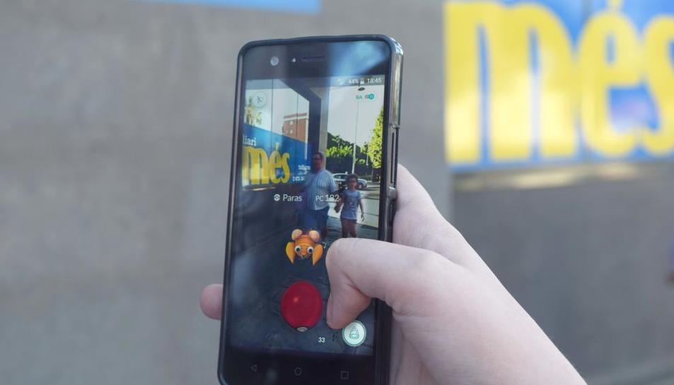 Imatge d'arxiu del popular joc per a telèfons mòbils.